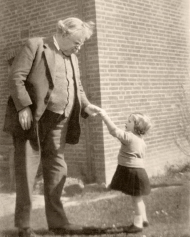G.K. Chesterton and Child
