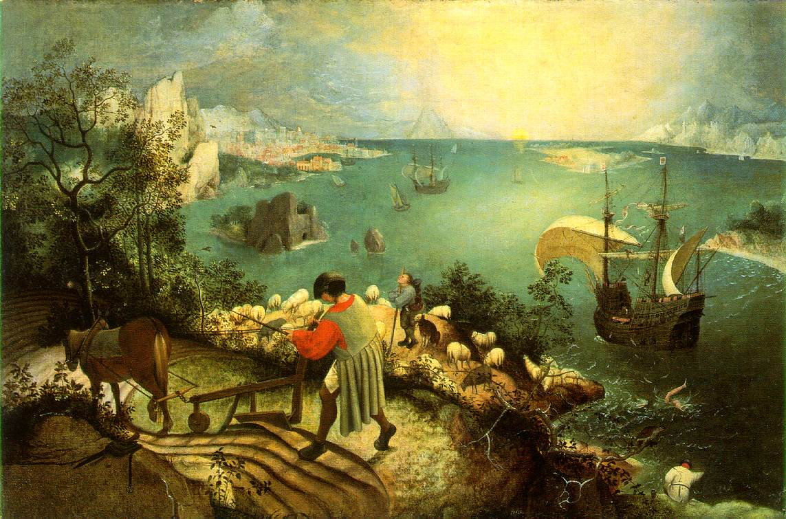 Brueghel The Fall of Icarus