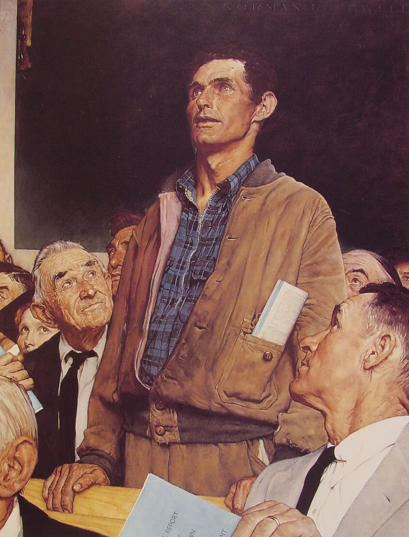 Rockwell_Norman-Freedom_of_Speech