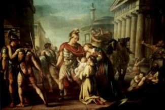 the parting of hector and andromache