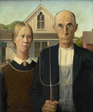 Grant_Wood American_Gothic