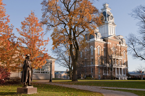 Washington Statue, Fall 2009