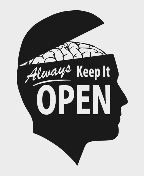 the meaning of open minded