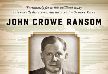 an introduction to the life of john crowe ransom