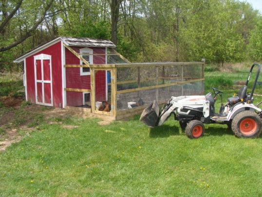 Hen House & Tractor